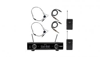 CAD Digital Dual Channel Wireless System Dual Bodypack Microphone Syst