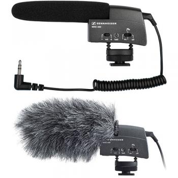 Sennheiser MKE400 Ultra Compact Shotgun Mic and Windjammer Kit