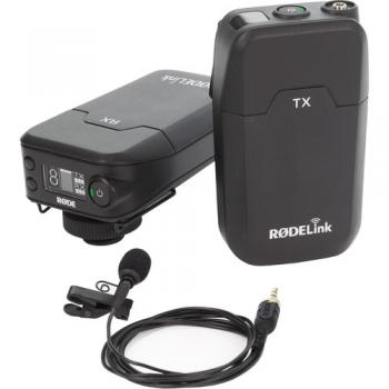 Rode RODELink Filmmaker Kit Digital Camera-Mount Wireless Omni Lavalie