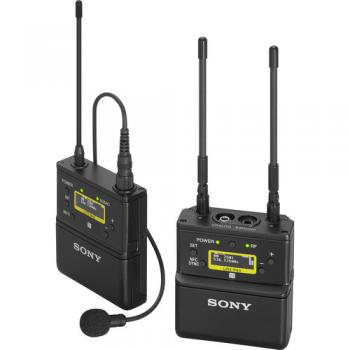 Sony UWP-D21 Camera-Mount Wireless Omni Lavalier Microphone System (UC