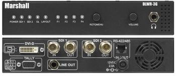 Marshall Broadcast DLWR-3G Quad Viewer 1RU DVI Output