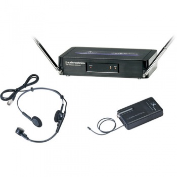 Audio-Technica ATW-251 200 Series FreeWay Lavalier Wireless Microphone System - Includes: ATW-R250 Receiver, ATW-T201 Bodypack Transmitter with Lavalier Microphone (T3 / 170.245 MHz) (USA Model)