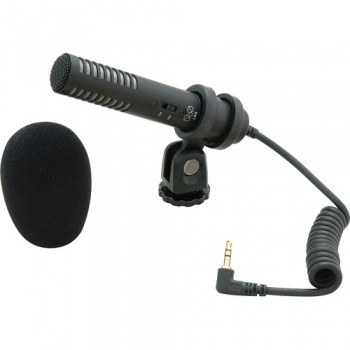 Audio-Technica Pro-24CM - Compact Stereo Condenser Microphone with Camera Shoe Mount