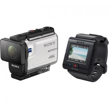 Sony FDR-X3000 4K Action Cam with Balanced Optical SteadyShot with LiveView Remote