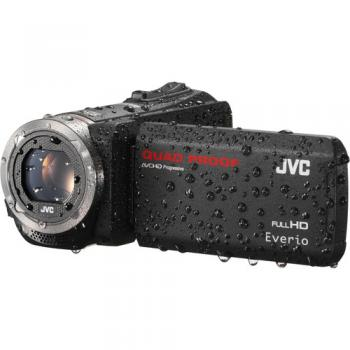 JVC GZ-R320DUS Quad-Proof HD Camcorder (Black)