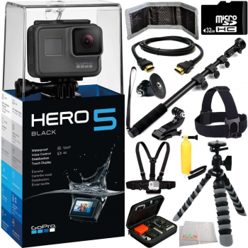 GoPro HERO5 Black Camera All Sports Bundle