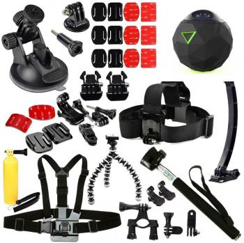 360fly 4K Video Camera Complete Accessory Bundle