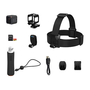 GoPro HERO5 Session WaterProof Action Camera UHD 4K + Accessory Bundle