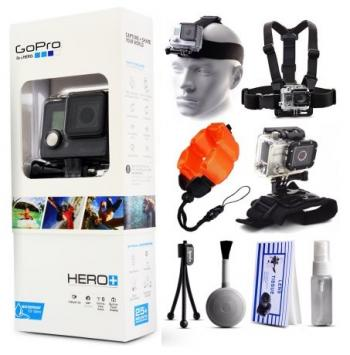 GoPro HERO+ Accessory Bundle - Over 5 Items Included!