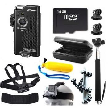 Nikon KeyMission 80 Action Camera + Bundle Kit