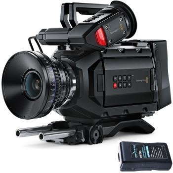 Blackmagic Design URSA Mini 4.6K Digital Cinema Camera (EF-Mount) with Battery