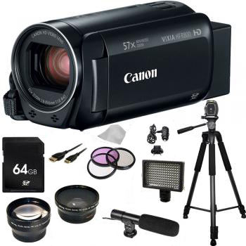 Canon VIXIA HF R800 Camcorder (Black) with Accessory Kit
