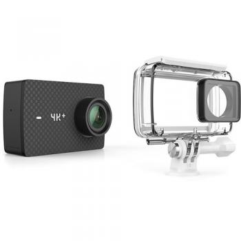 YI 4K+ 60fps Camera with Waterproof Case, Voice Control, Live Streaming, and 12MP RAW