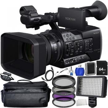 Sony PXW-X160 Full HD XDCAM Handheld Camcorder Starter Bundle