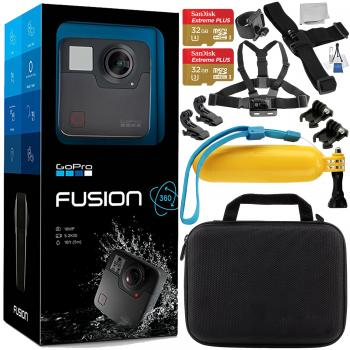 GoPro Fusion with Accessory Bundle