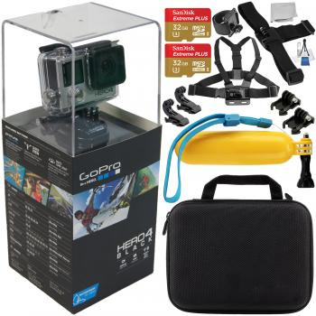 GoPro HERO4 Black with Accessory Bundle