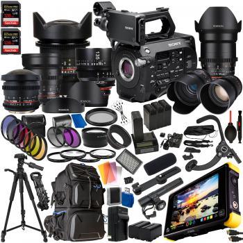 Sony PXW-FS7M2 XDCAM Super 35 Camera System with Cinema Accessory Bund