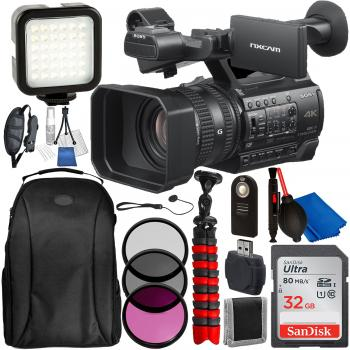 Sony HXR-NX200E Full HD NXCAM Camcorder with Accessory Bundle