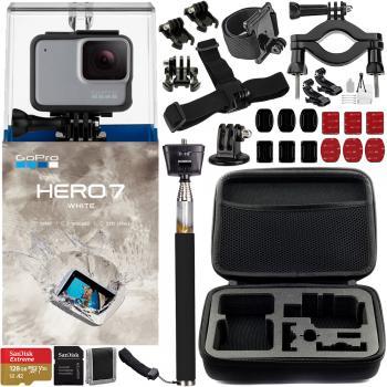 Gopro Hero7 White - CHDHB-601 with Essential Bundle