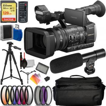 Sony HXR-NX3/1 NXCAM Professional Handheld Camcorder -  SONYHXRNX3/1 Advanced Bundle