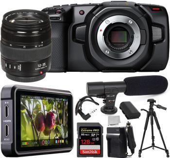 Blackmagic Design�Pocket Cinema Camera 4K - CINECAMPOCHDMFT4K with Pan