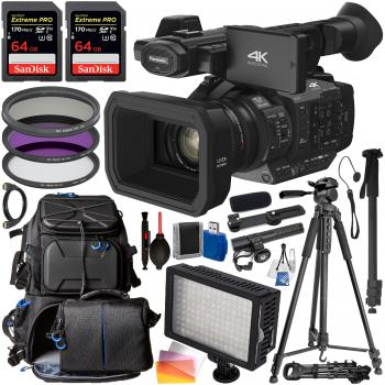 Panasonic HC-X1 Ultra HD 4K Professional Camcorder - HC-X1 with Profes