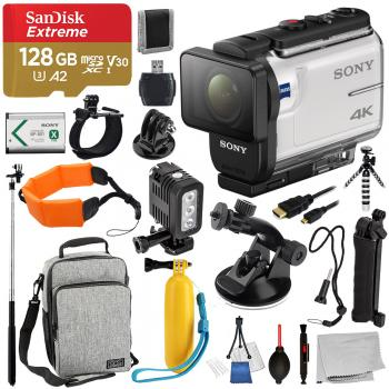 Sony FDR-X3000 Action Camera - FDRX3000/W With Advance Bundle