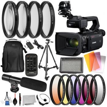 Canon XA50 UHD 4K30 Camcorder - 3669C002 with Deluxe Bundle