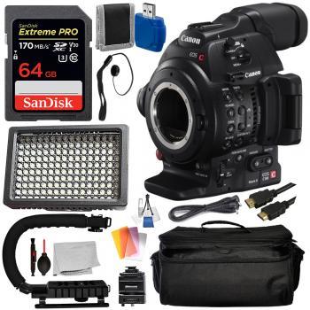 Canon EOS C100 Mark II Cinema EOS Camera with Dual Pixel CMOS AF - 020