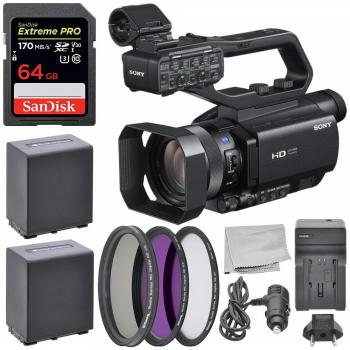 Sony HXR-MC88 Full HD Camcorder with Accessory Bundle