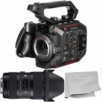 Panasonic AU-EVA1 5.7K Super 35mm Cinema Camera - AU-EVA1PJ8 with Sigm