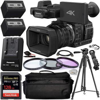 Panasonic HC-X1000 4K DCI/Ultra HD/Full HD Camcorder with Essential Ac