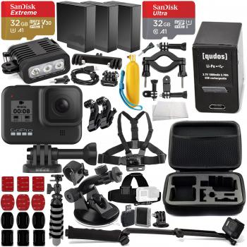 GoPro HERO8 Action Camera (Black) Premium Accessory Bundle