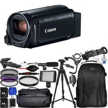 Canon VIXIA HF R800 Camcorder (Black) - Pro Bundle