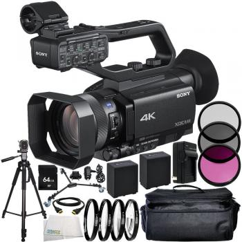 Sony PXW-Z90V 4K HDR XDCAM with Fast Hybrid AF 12PC Accessory Bundle �