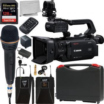 Canon XA50 UHD 4K30 Camcorder with Dual-Pixel Autofocus and Wireless M
