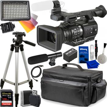 Panasonic AJ-PX270 microP2 Handheld AVC-ULTRA HD Camcorder with Must H