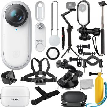 Insta360 GO 2 Action Camera with Deluxe Bundle - Includes: Action Came