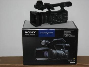 Sony HDR-AX2000 AVCHD Camcorder NTSC