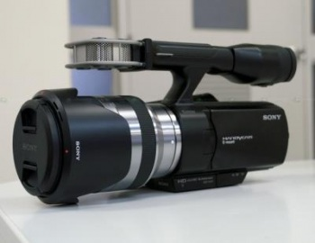Sony NEX-VG20 NTSC Interchangeable Lens HD Handycam Camcorder
