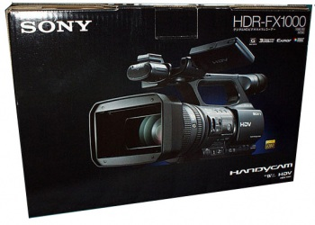 Sony HDR-FX1000E PAL Handycam HDV Camcorder