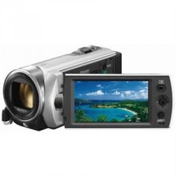 Sony DCR-SX21E Digital Camcorder PAL (Silver)