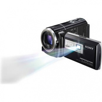 Sony HDR-PJ260VE HD Flash Memory PAL Camcorder with Projector (Black)