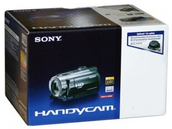 Sony HDR-CX580V High Definition Handycam Camcorder (Black) - NTSC