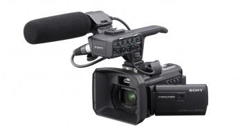 Sony HXR-NX30U 96GB Palm Size NXCAM HD Camcorder with Projector