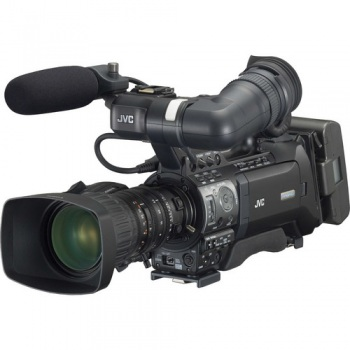 JVC GY-HM750E ProHD Compact Shoulder Camcorder with Lens