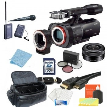 Sony NEX-VG900 Full-Frame Interchangeable Lens Camcorder (NTSC) with ...
