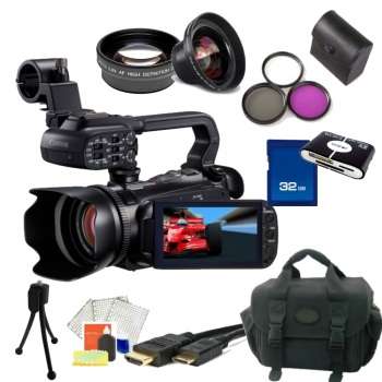 Canon XA10 HD Professional Camcorder NTSC + Accessory Bundle