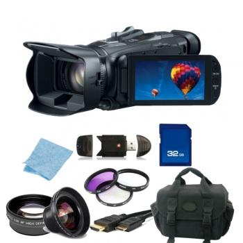 Canon VIXIA HF G30 Full HD Camcorder NTSC + Accessory Bundle (HFG30)