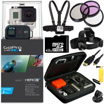 GoPro HERO3+ Black Edition Camera + All Sports Bundle